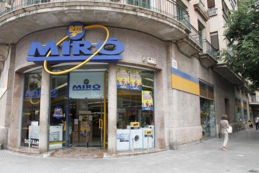 Sede de Electrodomésticos Miró en Palma.