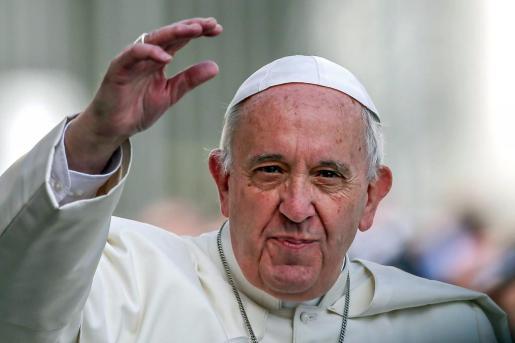 Fotografía de archivo que muestra al papa Francisco.