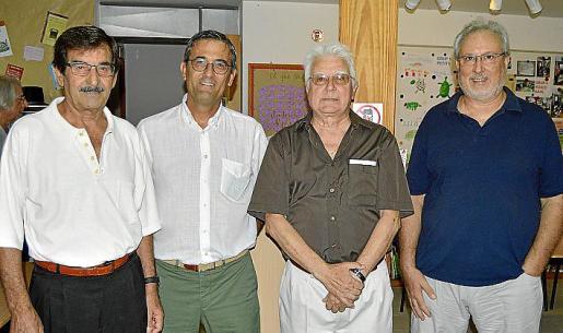 Francisco García, Miquel Fiol, Joan Guasp y Santiago Hernaiz.