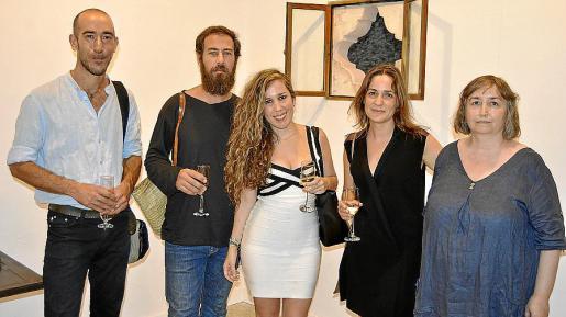 Antoni Miquel Morro, Gastón Luciano Bonanno, Claudia Cárdenas, Regina Cortès y Dolors Pérez.