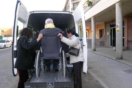 Imagen de archivo del Servicio de Ayuda a Domicilio (SAD).