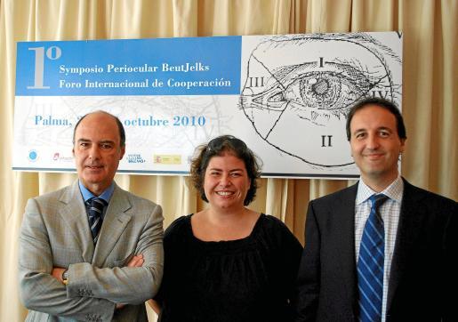 Javier Beut, Angela Llinás y Ramón Rotger explicaron los detalles.