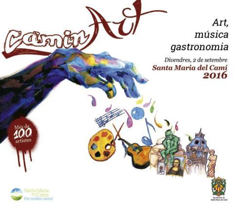'CaminArt' es la nueva propuesta cultural y de ocio que se organiza en Santa Maria del Camí.