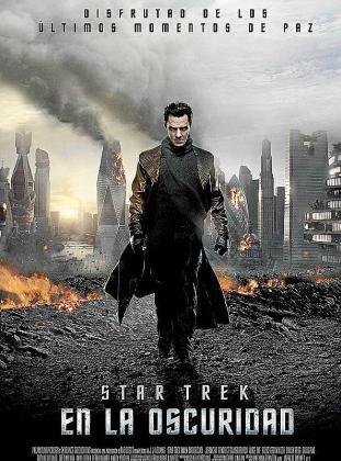 Cartel de la película 'Star Trek: En la oscuridad'.