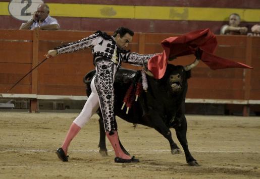 Imagen de archivo de una corrida de toros celebrada en Palma el pasado mes de agosto, en la que participó El Cid.