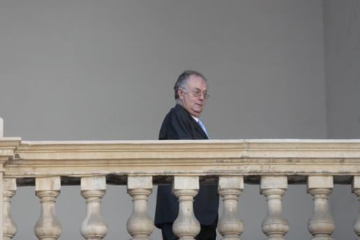 Imagen de archivo de Jaume Montis durante una comparecencia ante el juez.