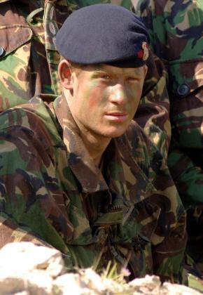 El príncipe Harry, durante una misión.