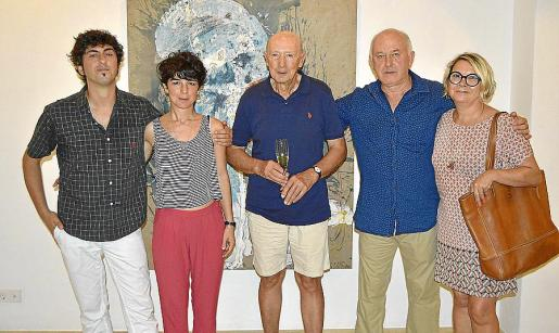 Pol Font, Cati Bennàssar, Toni Jaume, Luis Vidal y Antònia Borràs.