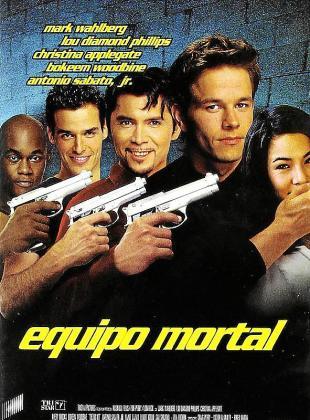 Cartel de la cinta 'Equipo mortal'.