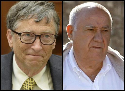 Bill Gates y Amancio Ortega.