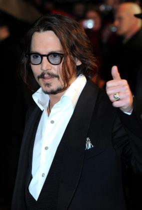 El actor Johnny Depp es el artista más acaudalado del momento.