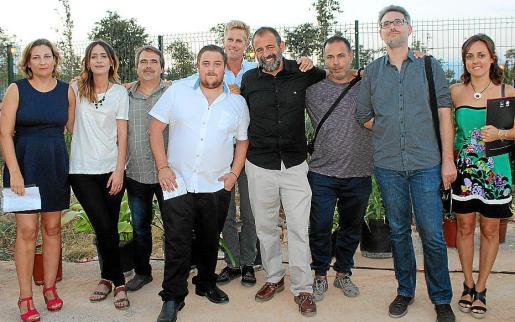 Ana Llodrá, Gloria Díaz, Tomás Femenías, Víctor Astorga, Juan Pablo Rosano, Víctor Dengra, Toni Aguilera, Sergi Canals y Marta Bestard.