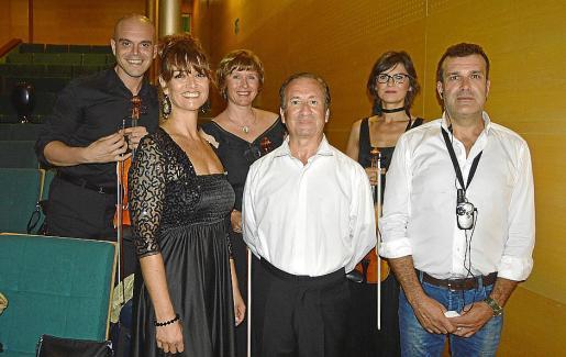 Pavel Penev, Mayte Abargues, Gina Nicola, Enrico Nenci, Sonia Krasnova y Pere Bonet.