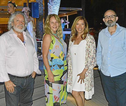 Raúl Izquierdo, Águeda Ropero, Gema Muñoz y Antelm Pujol.