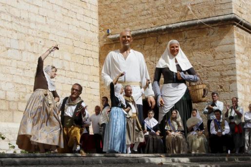 Binissalem durante la Festa des Vermar.