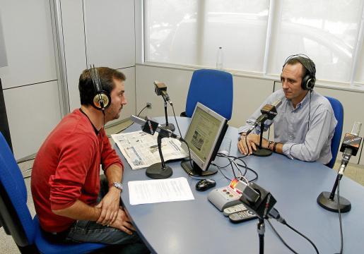 Bauzá, ayer en el programa 'Protagonistas', de Ultima Hora Punto Radio.