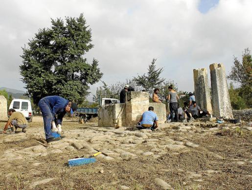 Durante dos semanas miembros de GADMA limpiaron y adecuaron la zona.
