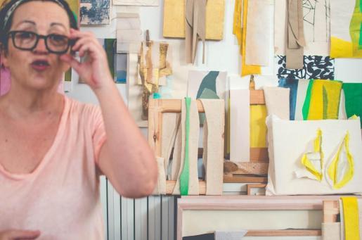 Mercedes Laguens en la Nit de l'Art 2016.