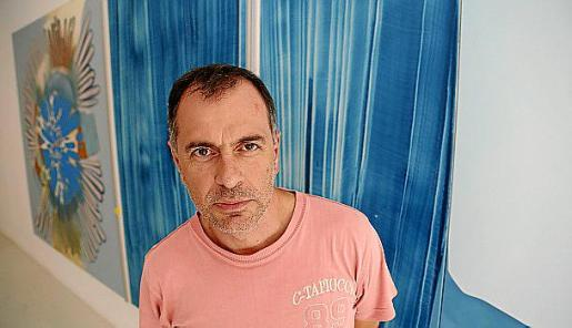 Daniel Verbis, en la galería Maior.