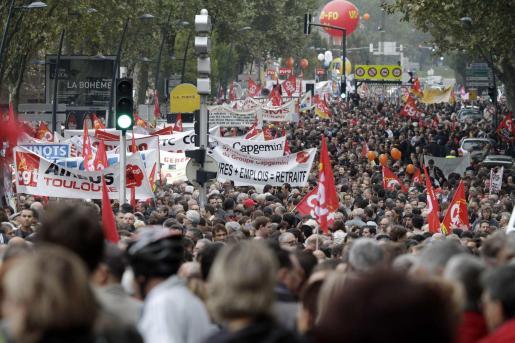 Toulouse vivió ayer una de las mayores manifestaciones que se recuerdan.