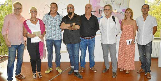 Luis Maraver, Magdalena Moyà, Jeroni Salom, Curro Viera, Ramón Comas, Pepe Cañabate, Maria Pau Ruiz y Pep Lluís García.