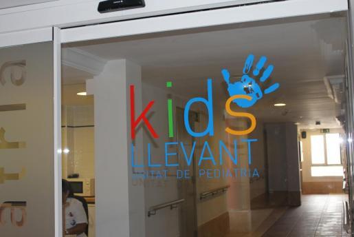 Imagen de la unidad de pediatría del Hospital de Llevant.