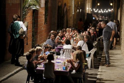 Imagen de archivo de la celebración del Sopar a la Fresca de 2015.