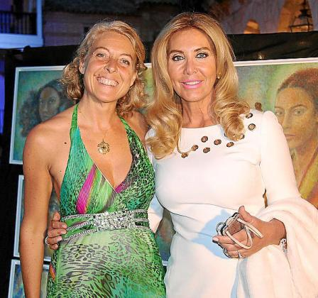 Bettina Rebeca Westeheide y Norma Duval.