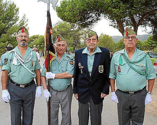 Tomeu Garau, Fermín Cánovas, Ramón Ysasi y Miquel Font.