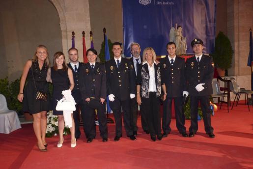 Yolanda García, Marina Gamonal, Juan Antonio Palomo, Julia Vázquez, Javier Ruíz, Juan Carlos Saavedra, María Jesús Cabia, Alejandro Martín y Aaron González.