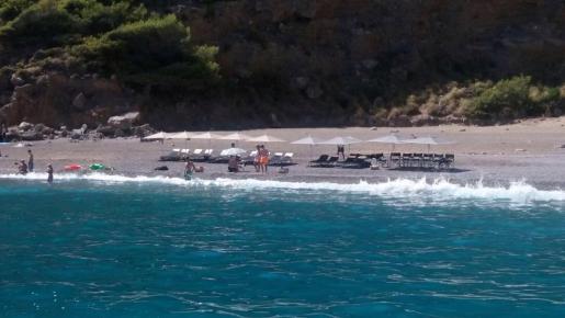 El PI reclama más efectivos del cuerpo de vigilantes de costas para evitar sucesos como la ocupación de playas vírgenes.