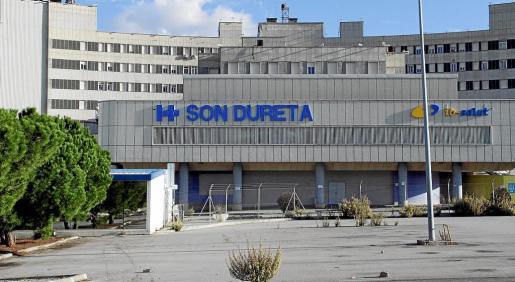 Imagen del estado actual del antiguo complejo hospitalario de Son Dureta.