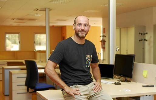Xavier Pallicer, fundador de CloudHotelier, una de las primeras empresas que se han instalado en el nuevo Centre Bit de Alaior.