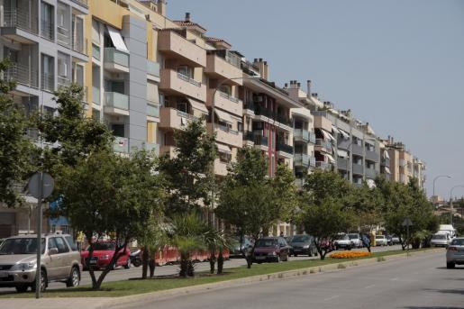 Bloques de vivienda en Palma.