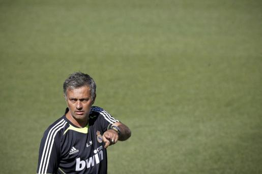 El técnico portugués del Real Madrid, Jose Mourinho.