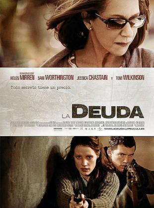 Cartel del film 'La deuda'.