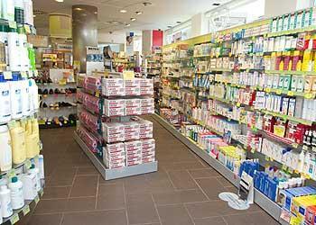 Imagen del interior de la farmacia.