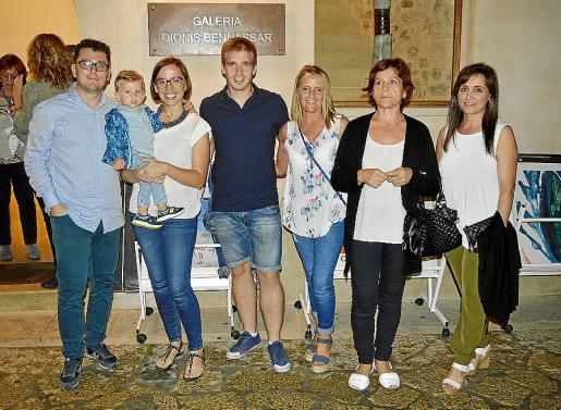 Jaume García, Joan García, Magdalena Marqués, Toni Cifre, Guadalupe Alaminos, Purificación Alaminos y Ana María Fernández.