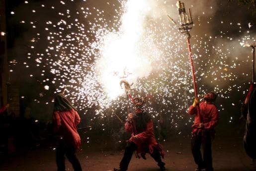 Ante todo, la celebración del sábado fue un reconocimiento y una reivindicación de la tradición balear del fuego.