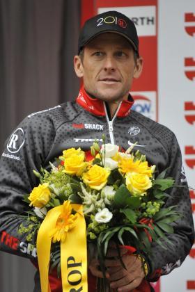 El estadounidense Lance Armstrong.