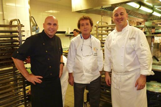 Marc Fosh, Gerhard Schwaiger y Tomeu Caldentey.