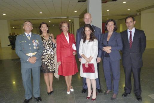 Basilio Sánchez Rufo, Raquel Villamil, Beatríz Portillo, Francisco Manuel Kovacs, Eva Shakouri, Ketty Isern e Ian Shakouri.