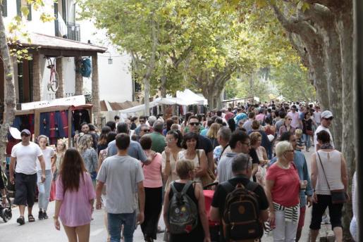 La localidad ha acogido a una gran cantidad de público durante toda la jornada de este domingo.