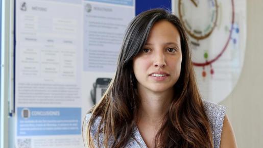 La investigadora Lucía Buil se ha encargado de esta tesis del doctorado 'Cognició i Evolució Humana'.