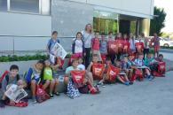 Alumnes del Ceip Es Puig de Sa Ginesta de Santa Ponsa visitaren Grup Serra i Agromallorca