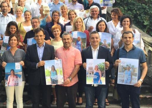 Moneto de la presentación de la campaña 'Històries del català'.
