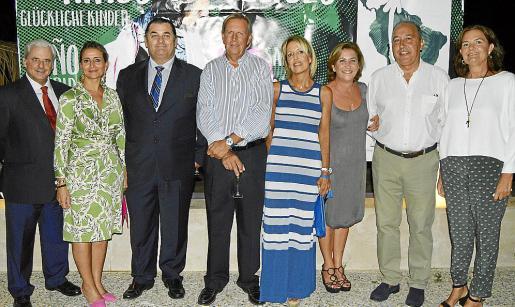 Toni Coll, María José Grau, Pedro Leal, Fernando Salvá, Lourdes Cerdó, Pilar Marqués, Manuel Macián y Tuni Leal.
