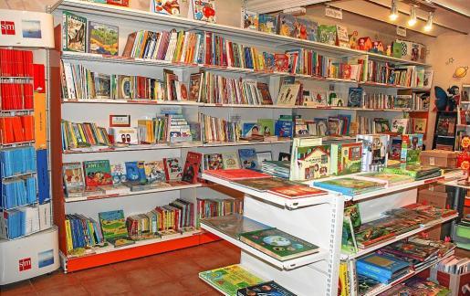 Imagen de una de las librerías infantiles que pueden encontrarse en el centro de Palma.