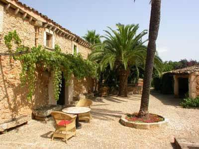 La finca Son Pons se sitúa en el norte de Mallorca.