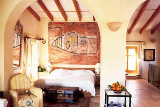Imagen de una de las habitaciones del establecimiento.